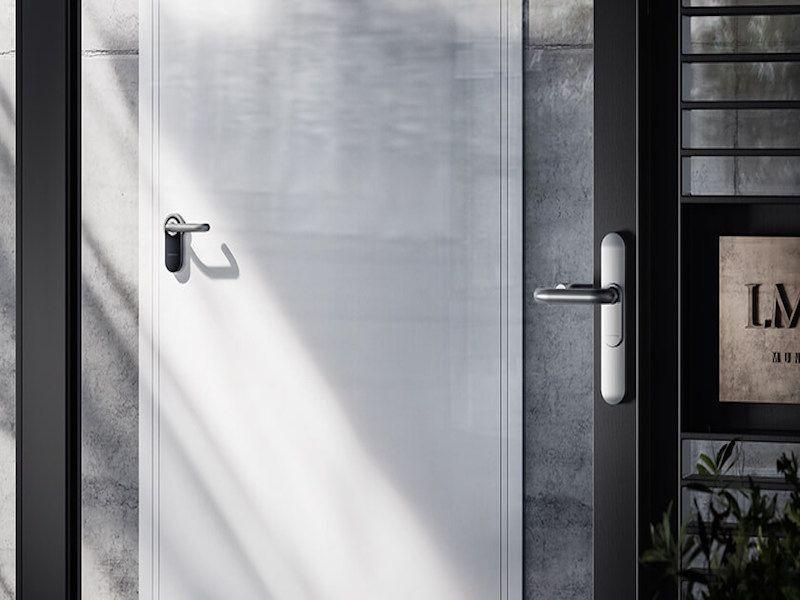 Dør-med-låse